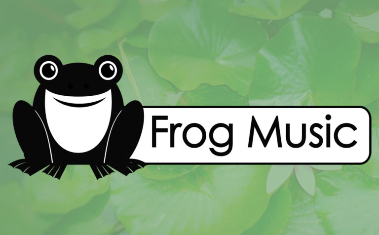 Frog Music – logo