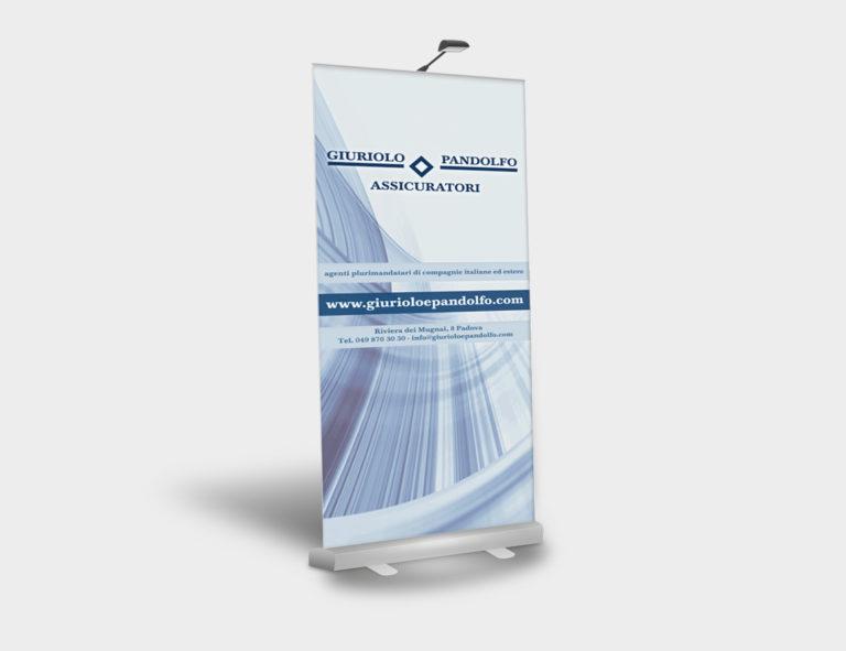 Giuriolo & Pandolfo – grafica rollbanner