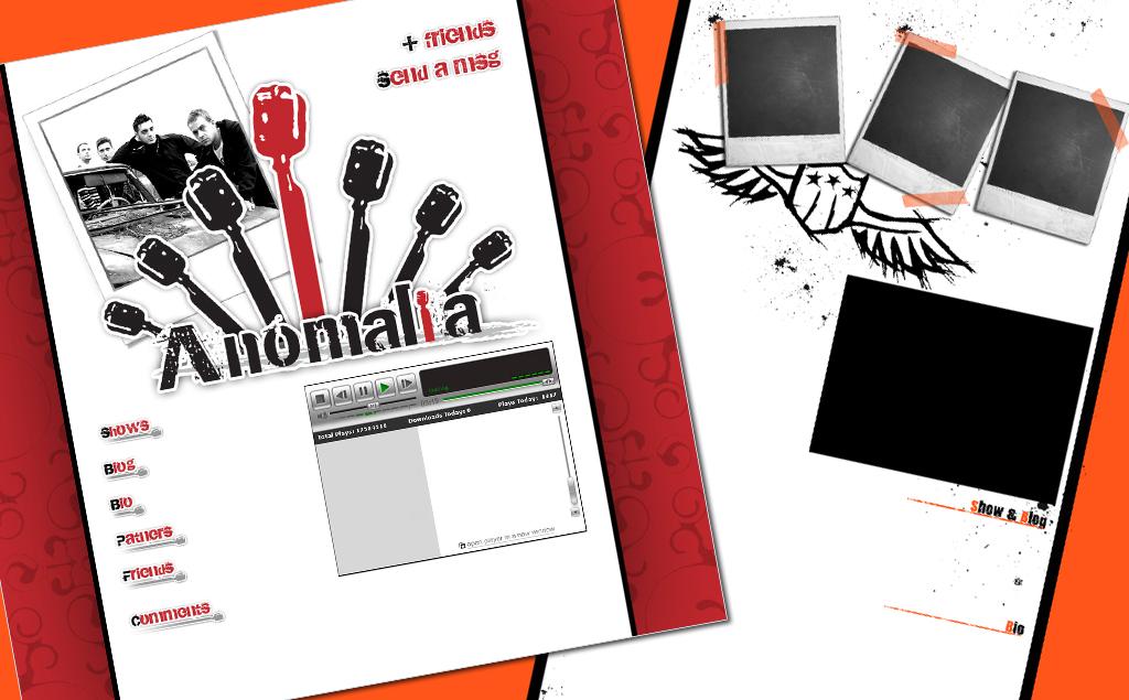 Anomalia | My Sad Melody – myspace
