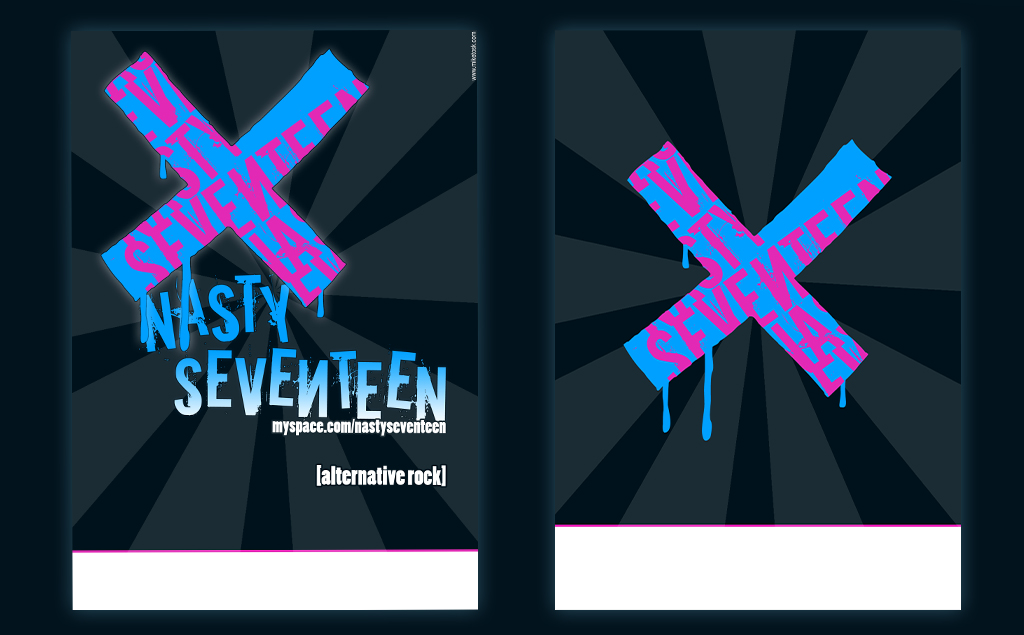 Nasty Seventeen – flyers