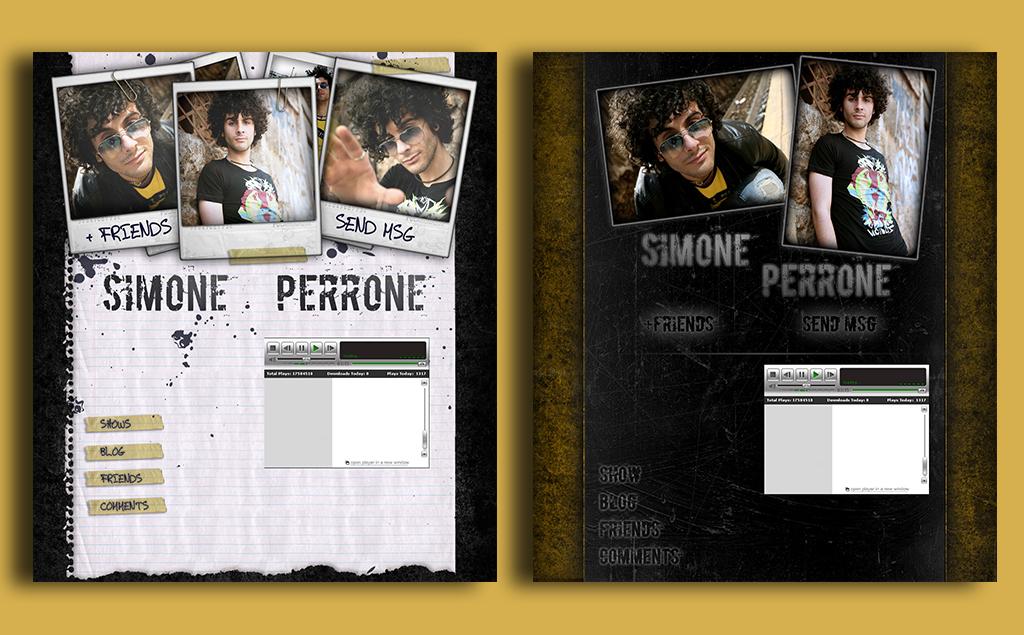 Simone Perrone – myspace