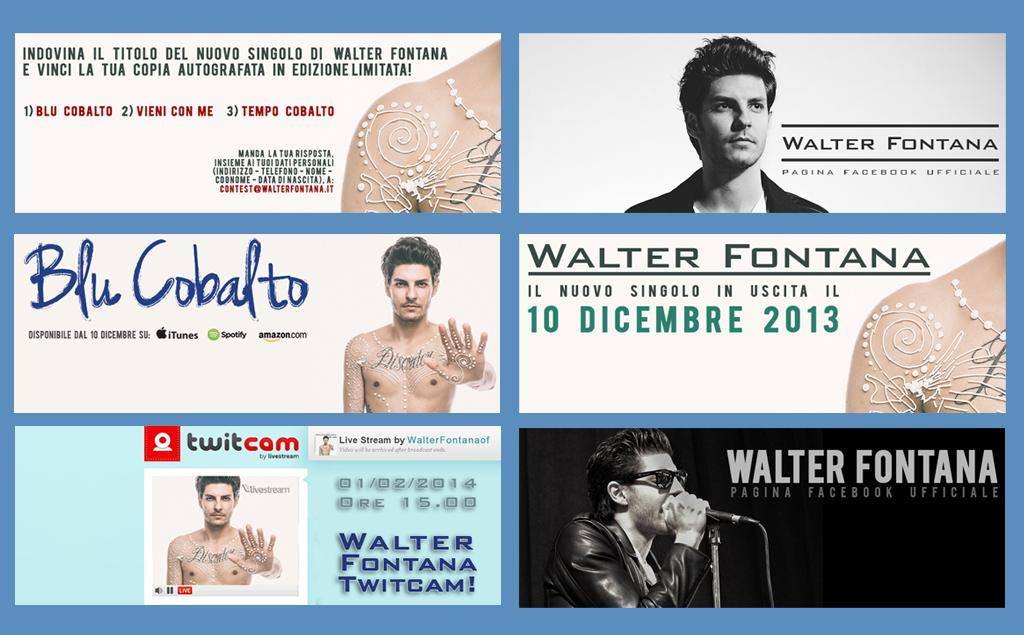 Walter Fontana – copertine Facebook