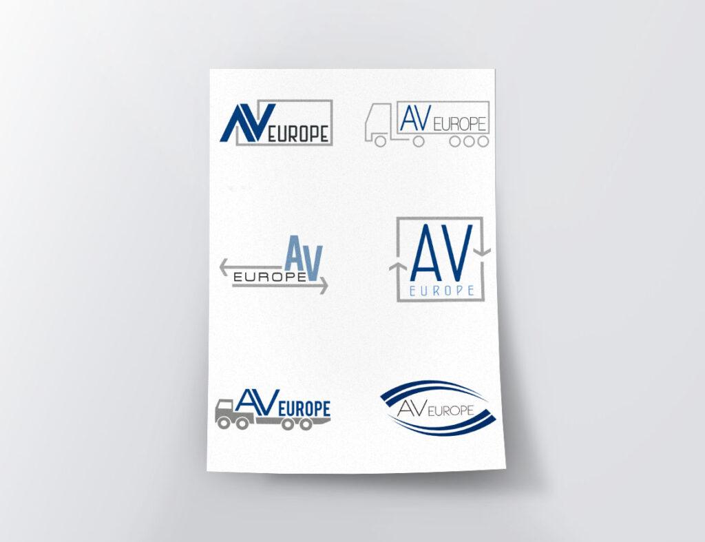 AV Europe – proposte loghi