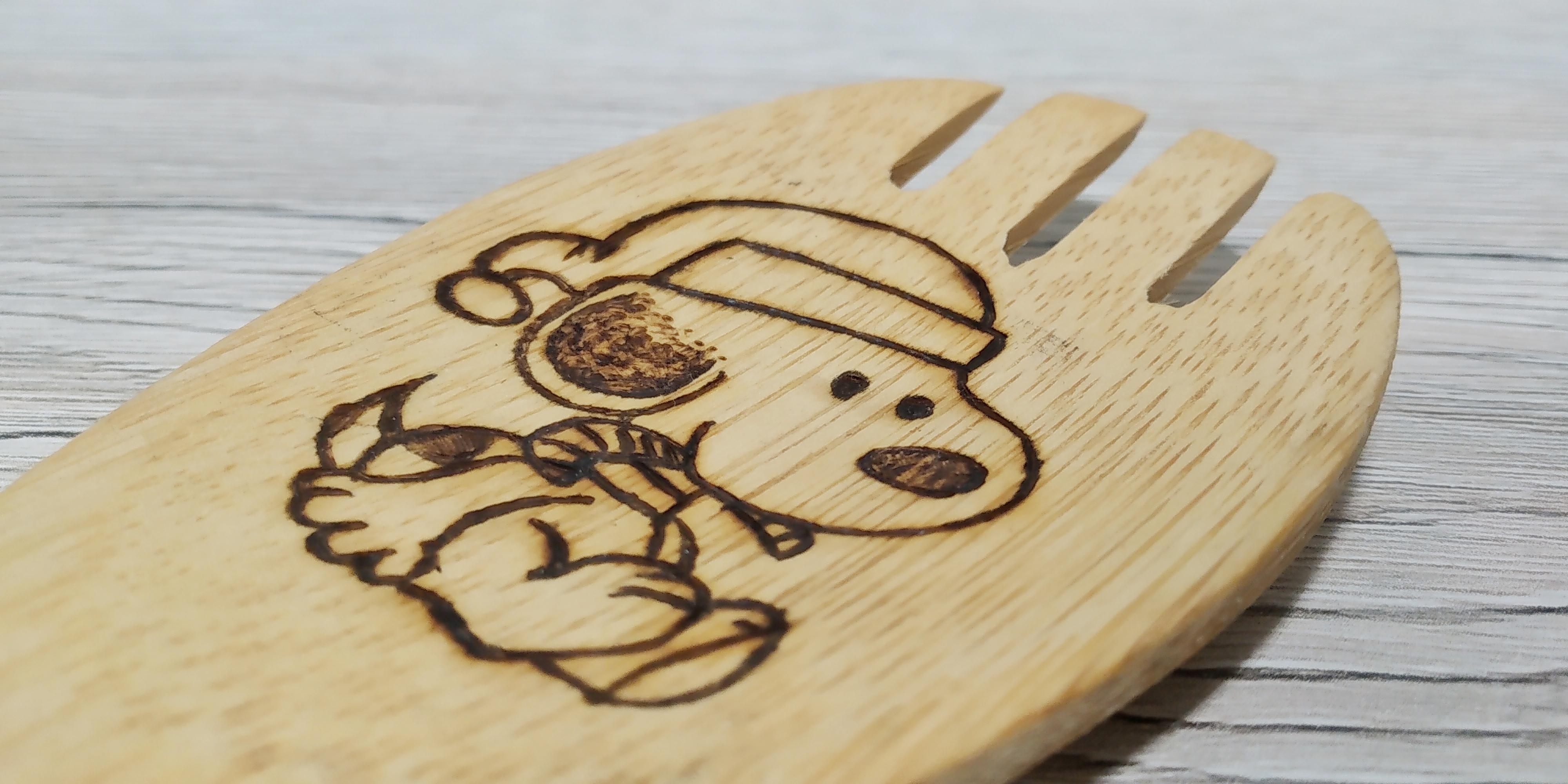 """Mestolo in bambù """"Snoopy"""""""