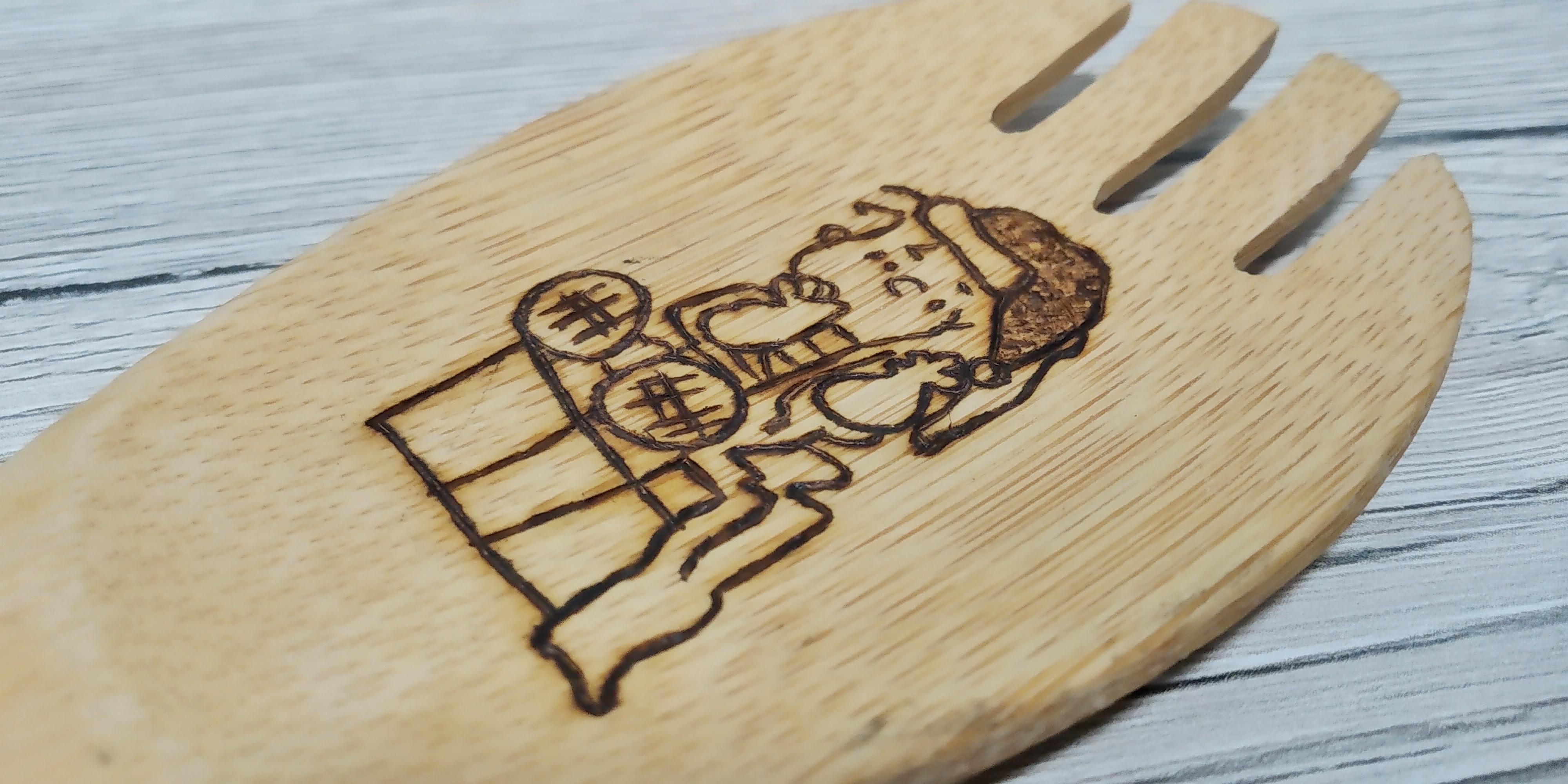 """Mestolo in bambù """"Linus"""""""