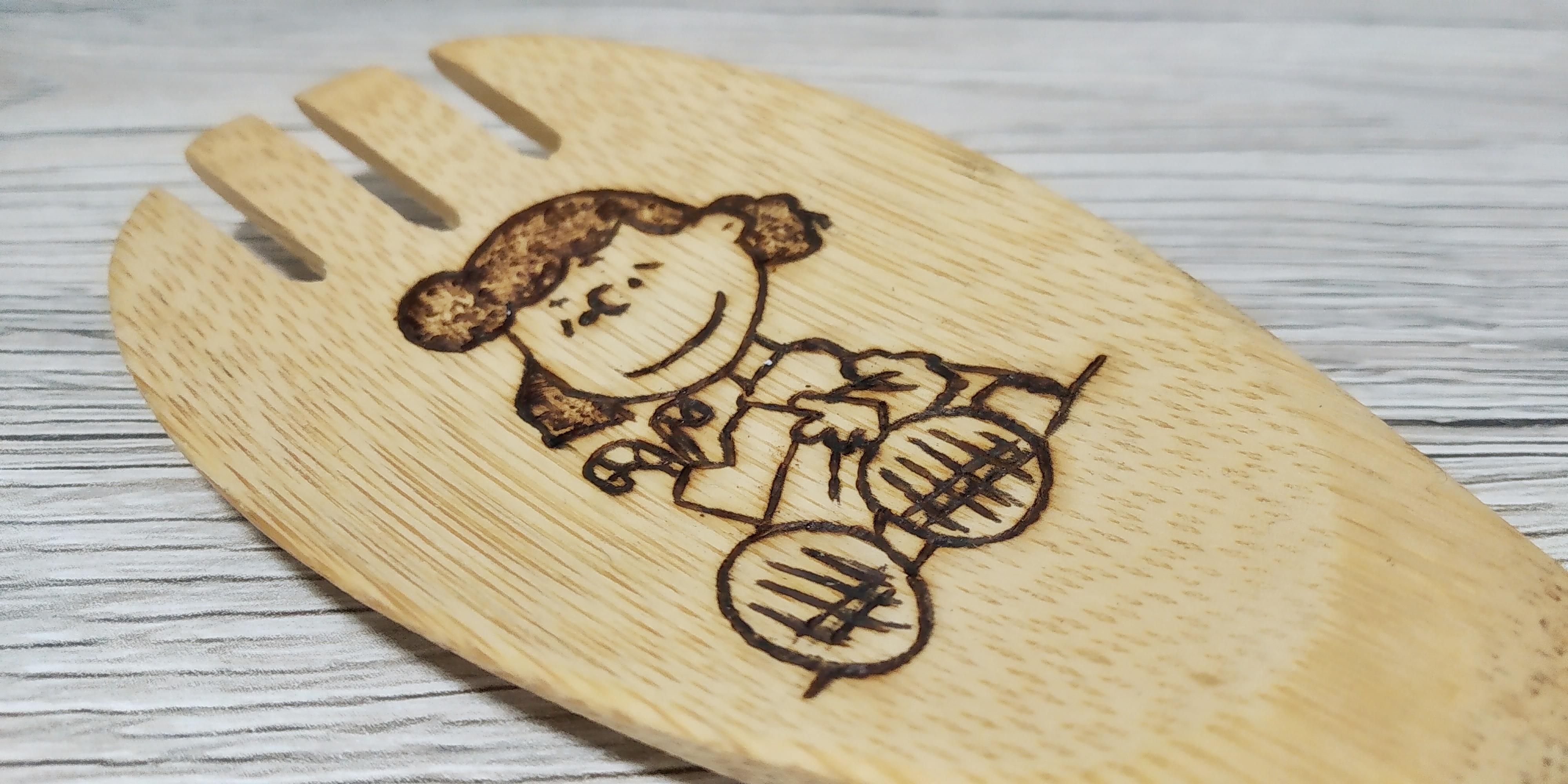 "Mestolo in bambù ""Mafalda"""