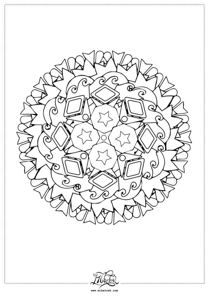 floral 01#06 – mandala da colorare. (Copia)