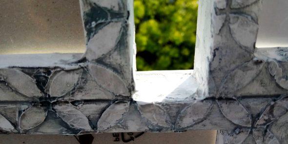 Coppia cornici per combinazione foto, tonalità sulle sfumature del grigio