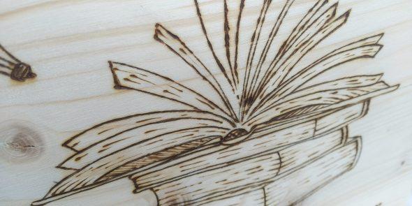 Pannelli personalizzati in legno di abete